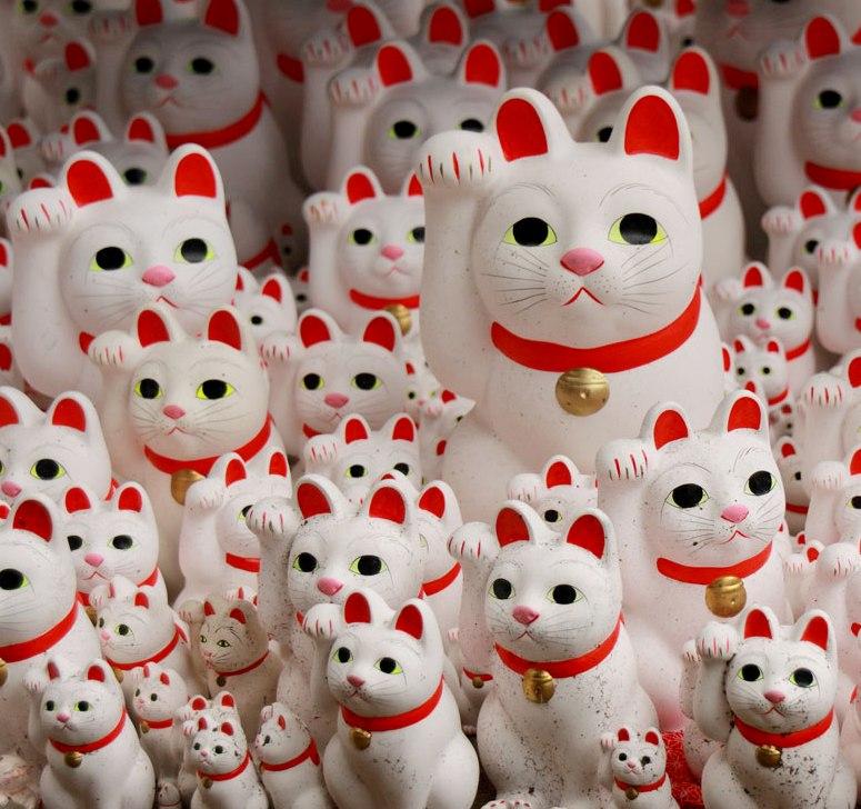 【猫好きさんの初詣はここへ!】招き猫だらけのお寺「豪徳寺」で幸運を招こう!