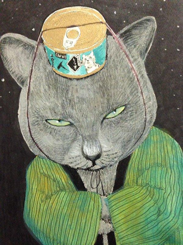 深谷かほるさんの【夜廻り猫】がじわじわくる…