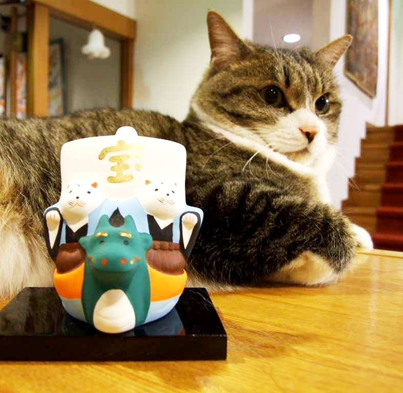 """【猫好きさん注目!】愛猫家に人気の宿「オーベルジュはせべ」は""""猫ネコねこ""""なお宿"""