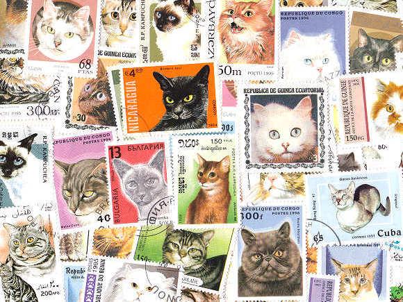 素敵なネコ切手の世界♪切手の博物館で「ふたたびのネコ」展開催!
