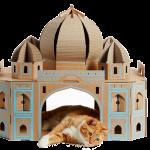【猫で世界旅行してみる?!】世界中の超有名な建造物をモデルにした猫ハウスが登場しました♡