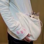 これを着れば愛猫といつでも一緒♡話題のにゃんガルーパーカーってどんなの?猫ちゃんを入れて詳しく紹介☆