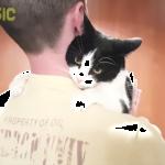 抱っこしたらもう離れにゃいっ!!飼い主さんのことが大好きすぎる猫ちゃん(笑)