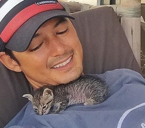 猛犬に襲われ兄弟すべてを亡くし、唯一生き残った子猫。心優しい男性と出会い、恐怖のどん底から幸せへ導かれる
