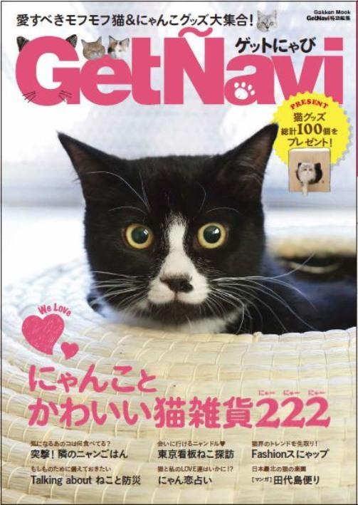 【猫好きさん必読です!!】猫好きによる猫好きのための情報誌『ゲットにゃび』