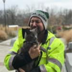 『私のクリスマスの奇跡』4か月前行方不明になった愛猫と再会したトラック運転手